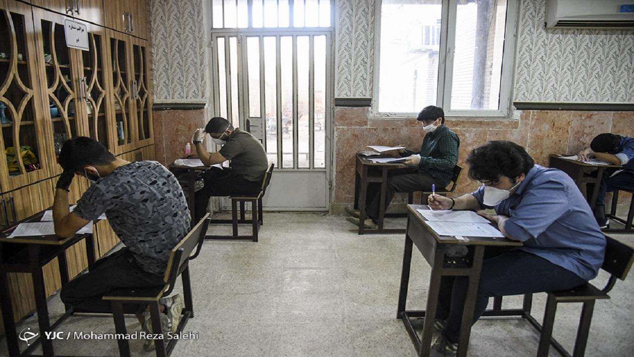 امتحان جداگانه دانش آموزان مبتلا یا مشکوک به کرونا
